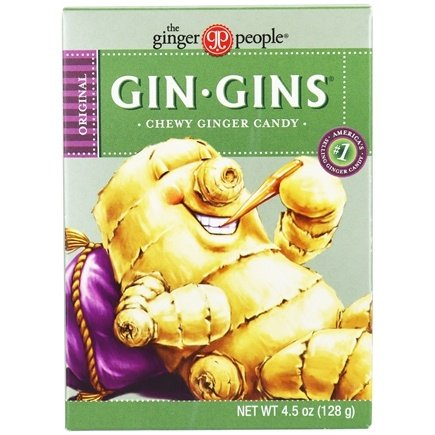 Ginger People - Ginger Chews Original Flavor - 4.5 oz.