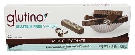 Zoom View - Gluten Free Wafer Cookies Chocolate Coated