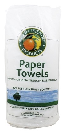 Earth Friendly - Paper Towels Extra Strength Two-Ply - 90 Sheet(s)