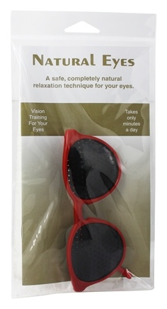 Natural Eyes - Pinhole Glasses Kids Red