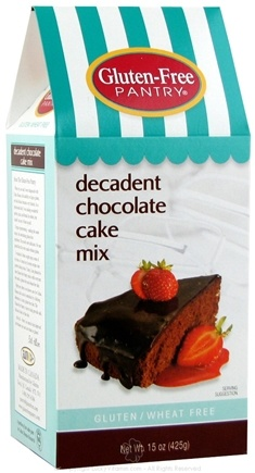 Zoom View - Gluten Free Pantry Decadent Chocolate Cake Mix