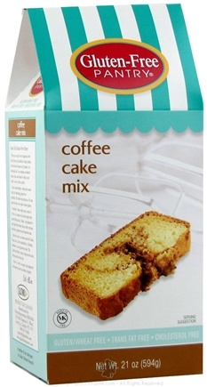 DROPPED: Glutino - Gluten Free Pantry Coffee Cake Mix - 21 oz.