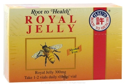 DROPPED: Root To Health - Royal Jelly 300 mg. - 10 Vial(s) CLEARANCE PRICED