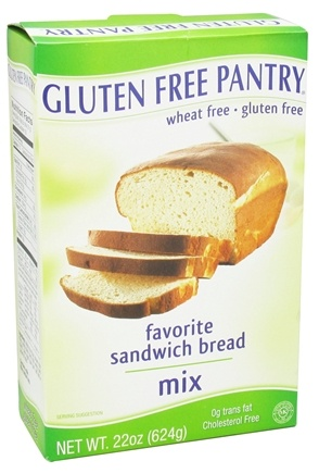 DROPPED: Glutino - Gluten Free Pantry Favorite Sandwich Bread Mix - 22 oz. CLEARANCE PRICED