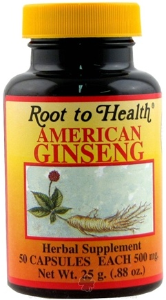 Zoom View - American Ginseng Supplement