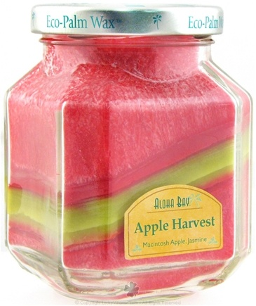 Zoom View - Deco Jars Apple Harvest Candle