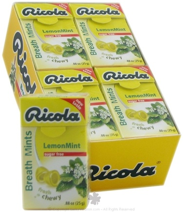 DROPPED: Ricola - Breath Mints Sugar Free LemonMint - 0.88 oz.