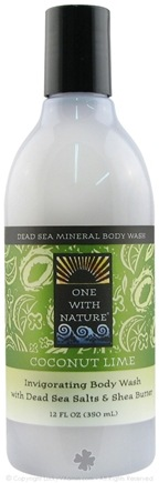 Zoom View - Dead Sea Mineral Body Wash Invigorating