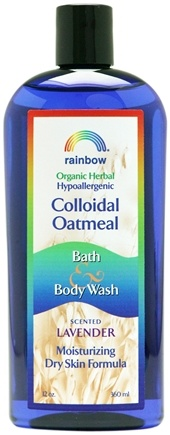 DROPPED: Rainbow Research - Colloidal Oatmeal Bath and Body Wash Scented Lavender - 12 oz. CLEARANCE PRICED