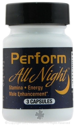 DROPPED: Sports One - Perform All Night Male Enhancement - 3 Capsules