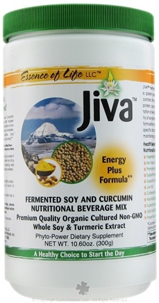DROPPED: Essence of Life - Jiva Fermented Soy and Curcumin Nutritional Beverage Mix - 10.6 oz.