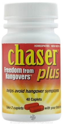 DROPPED: Living Essentials - Chaser Plus Freedom from Hangover - 40 Caplets