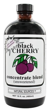 Natural Sources - Unsweetened Concentrate Black Cherry - 16 oz.