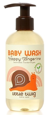 DROPPED: Little Twig - Baby Wash Happy Tangerine - 8.5 oz.