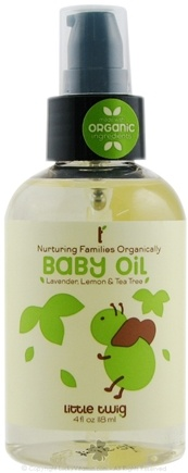DROPPED: Little Twig - Baby Oil Organic Lavender, Lemon & Tea Tree - 4 oz.