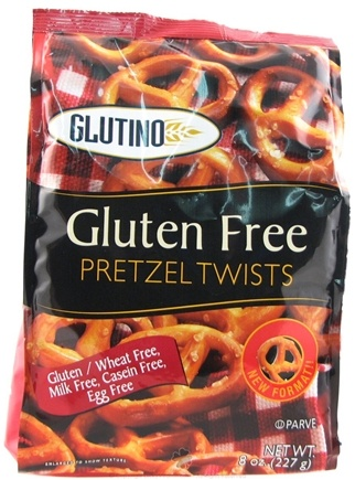 Zoom View - Gluten Free Pretzel Twists Unsalted