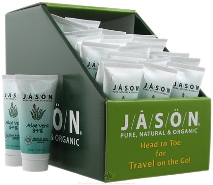 DROPPED: Jason Natural Products - Aloe Vera 84% Hand and Body Lotion Travel Size - 1.5 oz.