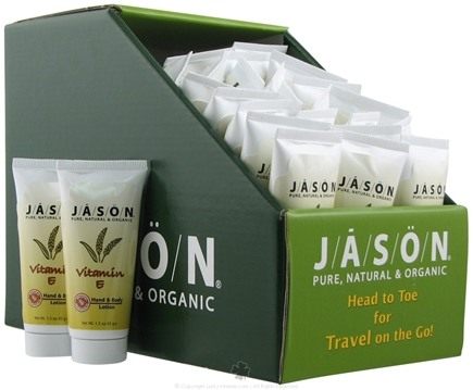 DROPPED: Jason Natural Products - Vitamin E Hand and Body Lotion Travel Size - 1.5 oz.