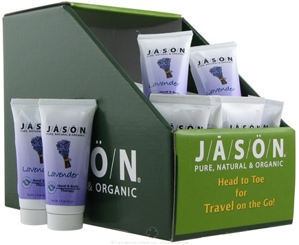 DROPPED: Jason Natural Products - Lavender Hand and Body Therapy Lotion Travel Size - 1.5 oz.