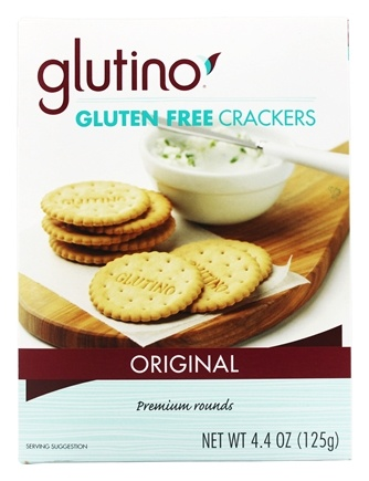 Glutino - Gluten-Free Crackers Original - 4.4 oz.