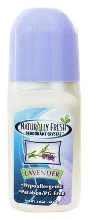 Naturally Fresh - Deodorant Crystal Roll-On Lavender - 3 oz.