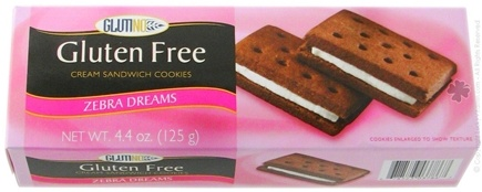 Zoom View - Gluten Free Zebra Dreams Cream Sandwich Cookies