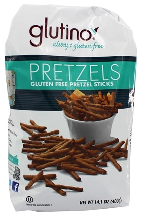 Zoom View - Gluten Free Pretzel Sticks