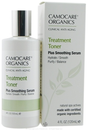 DROPPED: CamoCare Organics - Treatment Toner Plus Smoothing Serum - 4 oz.