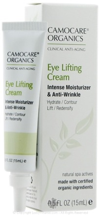 DROPPED: CamoCare Organics - Eye Lifting Cream Intense Moisturizer and Anti-Wrinkle - 0.5 oz.