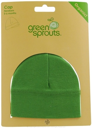 DROPPED: Green Sprouts - Organic Cotton Newborn Cap 0-6 Months