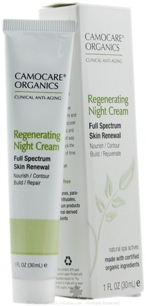 DROPPED: CamoCare Organics - Regenerating Night Cream Full Spectrum Skin Renewal - 1 oz.