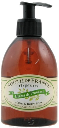 DROPPED: South of France - Hand and Body Soap Herbs de Provence - 10 oz. CLEARANCE PRICED