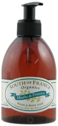 DROPPED: South of France - Hand and Body Soap Menthe de Provence - 10 oz.