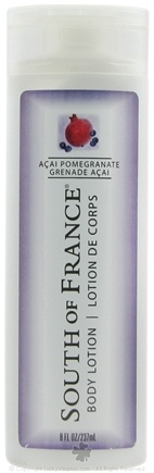 DROPPED: South of France - Body Lotion Acai Pomegranate - 8 oz. CLEARANCE PRICED