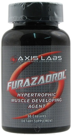 DROPPED: Axis Labs - Furazadrol Hypertrophic Muscle Developing Agent - 60 Capsules