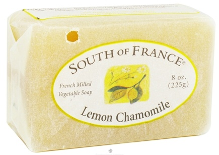 DROPPED: South of France - French Milled Vegetable Bar Soap Lemon Chamomile - 8 oz.