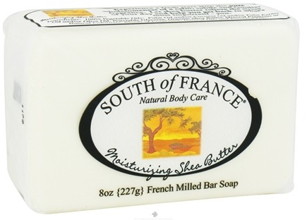 DROPPED: South of France - French Milled Vegetable Bar Soap Moisturizing Shea Butter - 8 oz.
