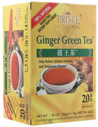 DROPPED: Prince of Peace - Ginger Green Tea - 20 Tea Bags