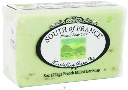 DROPPED: South of France - French Milled Vegetable Bar Soap Nourishing Green Tea - 8 oz.