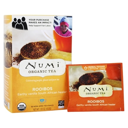 Numi Organic - Herbal Tea Rooibos - 18 Tea Bags
