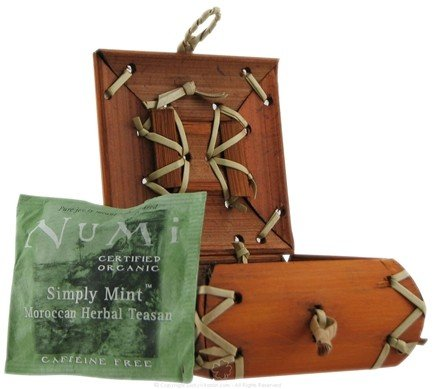 DROPPED: Numi Organic - Mini Bamboo Box Assorted Teas - 6 Packet(s) CLEARANCE PRICED
