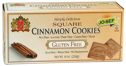 DROPPED: Josefs Gluten Free - Square Cookies Cinnamon - 8 oz. CLEARANCE PRICED