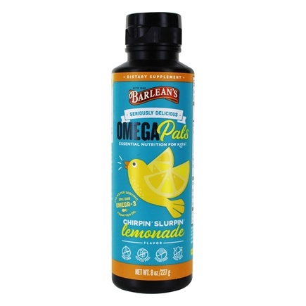 Barlean's - Kid's Omega Swirl Omega-3 Fish Oil Lemonade - 8 oz.