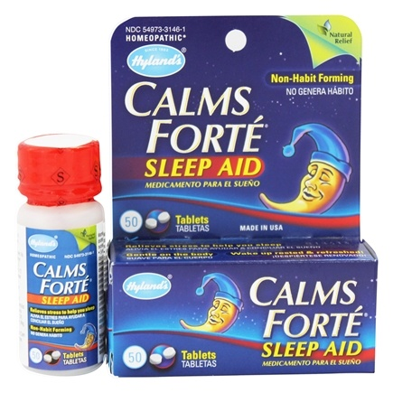 DROPPED: Hylands - Calms Forte Sleep Aid - 50 Tablets