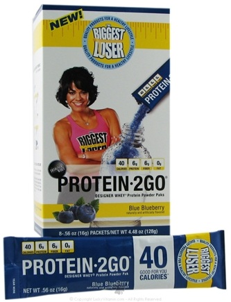 Zoom View - Designer Whey The Biggest Loser Protein 2 Go Powder