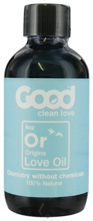 DROPPED: Good Clean Love - All Natural Love Oil Origins - 4 oz. CLEARANCE PRICED
