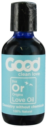DROPPED: Good Clean Love - All Natural Love Oil Origins - 2 oz. CLEARANCE PRICED