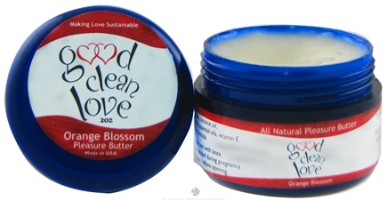 DROPPED: Good Clean Love - Pleasure Butter Orange Blossom - 2 oz.