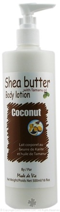 DROPPED: Mode De Vie - Shea Butter Body Lotion Coconut with Tamanu Oil - 16 oz.