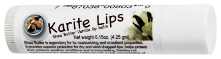 Mode De Vie - Karite Lips Shea Butter Lip Balm Vanilla - 0.15 oz.